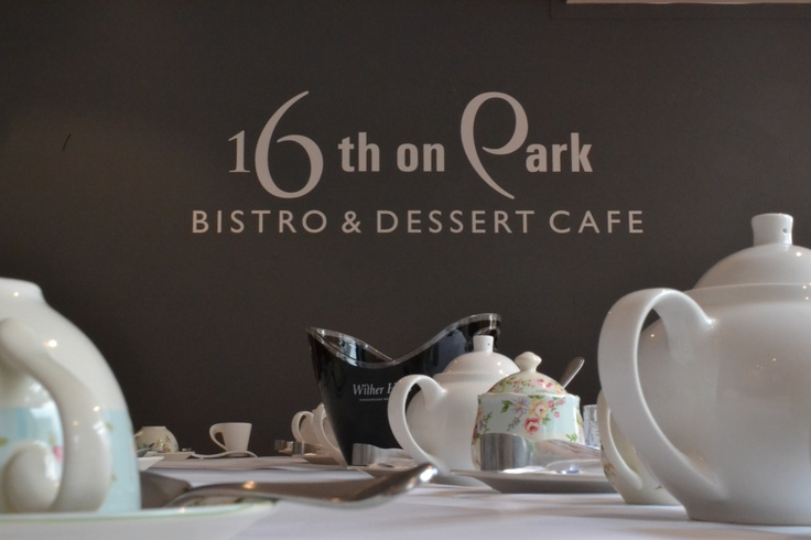 16th on Park with teaware