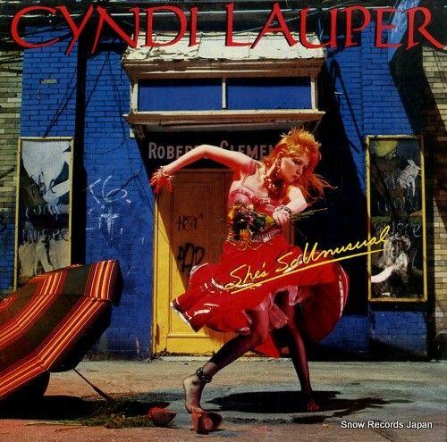 スノー・レコード・ブログ: シンディ・ローパー / LAUPER, CYNDI -  she's so unusual -  P...