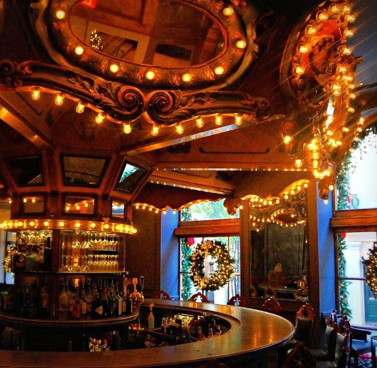 Rockin' around the Carousel Bar has a nice ring to it, don't you think?
