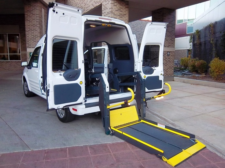 DDT Raised Roof Transit Connect Wheelchair Van Pinterest