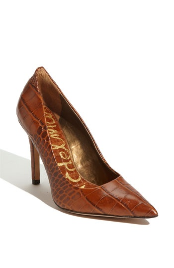 """Love Sam Edelman. And, apparently, the color """"Whiskey"""""""