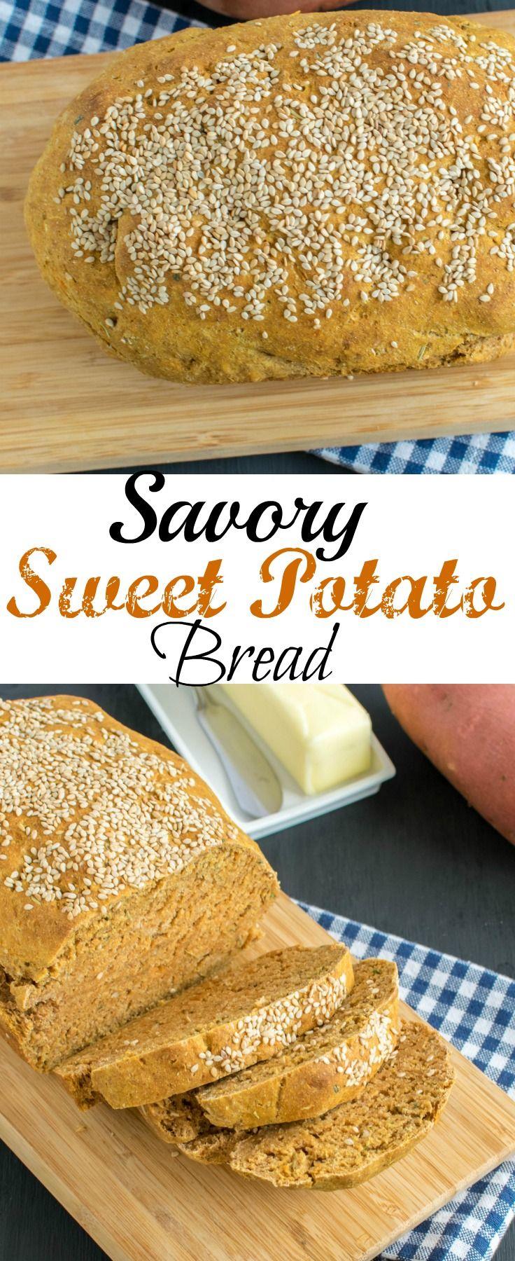 Savory Sweet Potato Bread