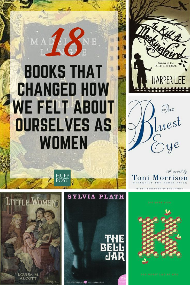 18 Books That Changed How We Felt About Ourselves As Women