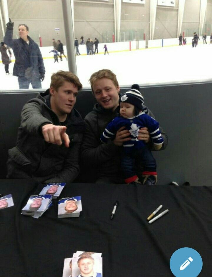Morgan Rielly and Jake Gardiner