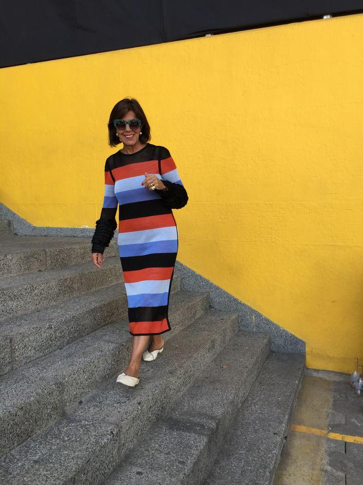 Pepa in stripes #ppStTtroezDress  / Pepa a rayas #parisdeasia #pepapombo