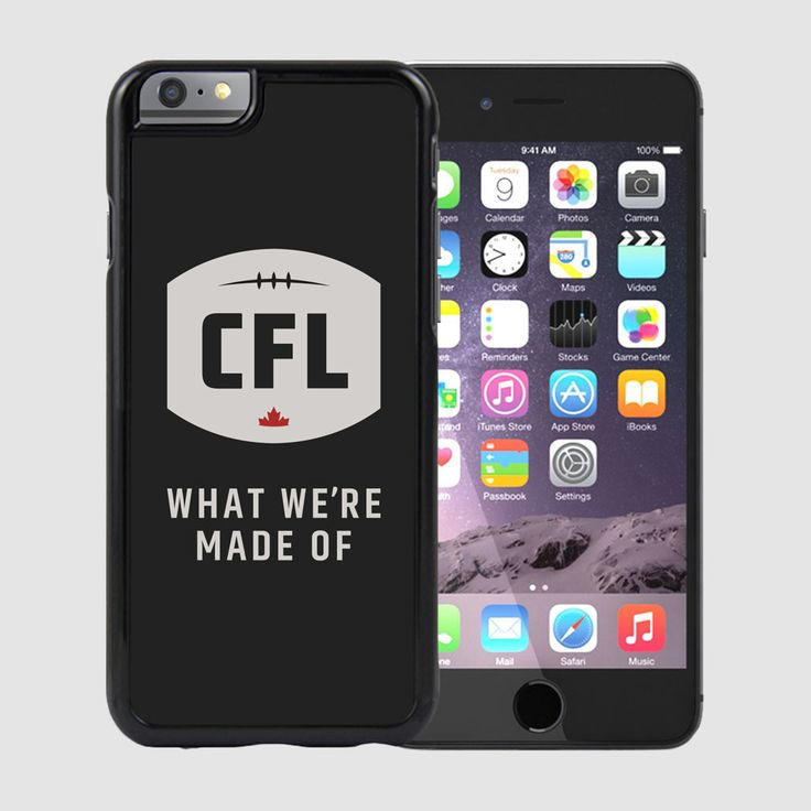 CFL WMMO iPhone 6 Case-Black / Étui pour iPhone 6 WWMO de la LCF. With this iPhone 6 case, be one of the first to represent the NEW logo and tagline of the Canadian Football League.  Because we know what happens when the energy of Canadian Football meets the passion of Canadian fans.