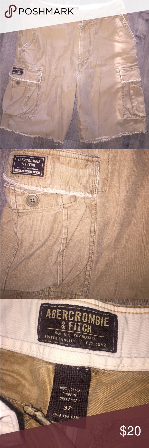 Abercrombie and Fitch men's Cargo shorts brand new Classic anf summer look classic and trendy Abercrombie & Fitch Shorts Cargo