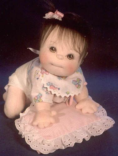PDF Crawling Baby Doll SEWING PATTERN 17 inch by SpringtimeDesigns, $8.95