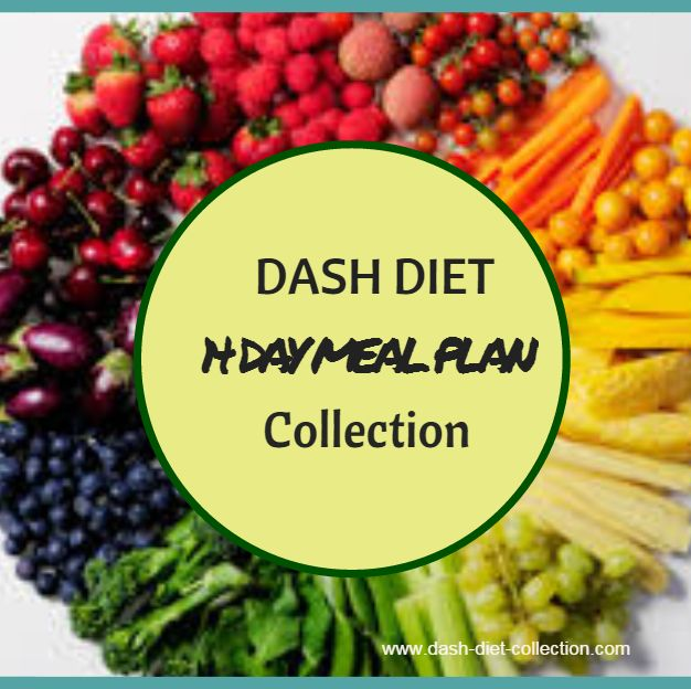 The DASH Diet Plan: DASH Diet Meal Plan -Phase 1