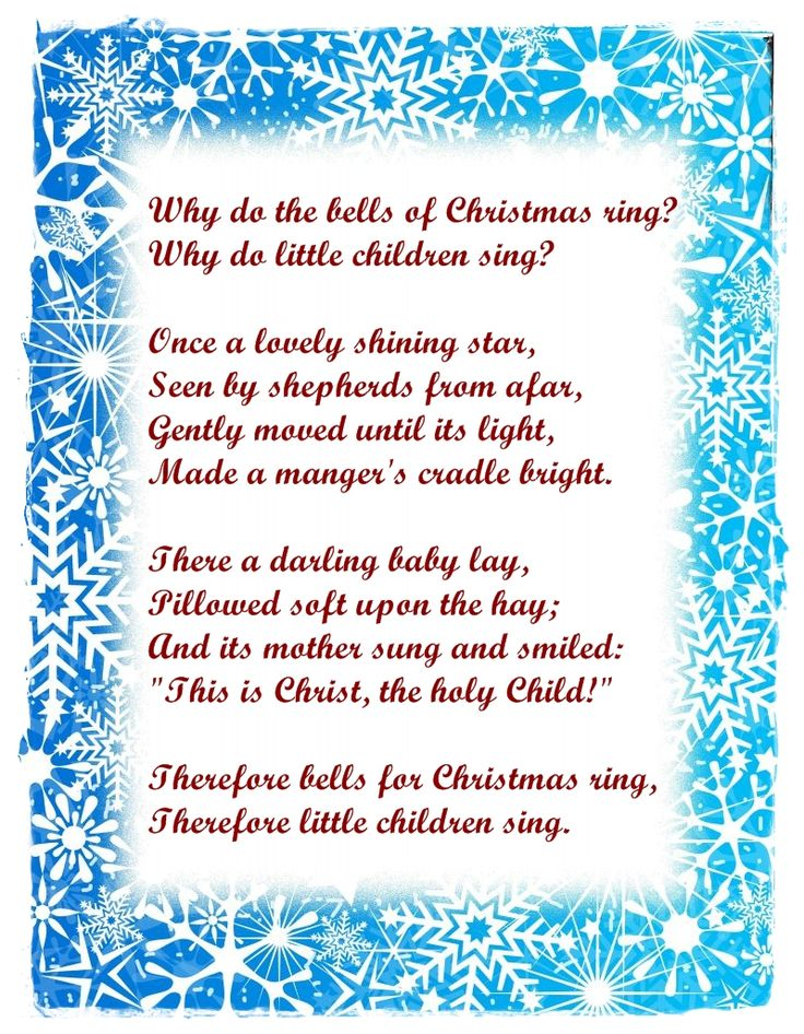 christmas poems for preschoolers to recite creativepoem co