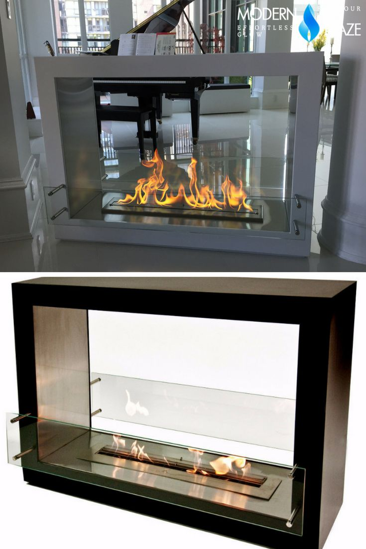 14 best Frame-Like Freestanding Fireplaces images on ...