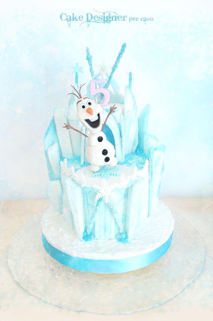 Cake Designer per caso [Frozen - The kingdom of ice]