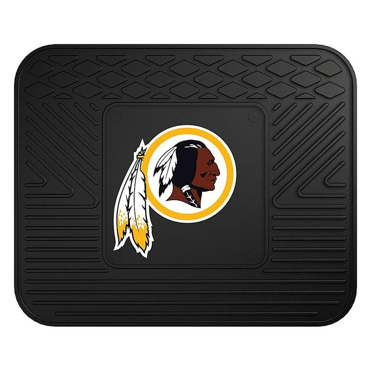 "Officially Licensed NFL Team Logo 14"" x 17"" Mat by Sports Licensing Solutions - Cowboys - Redskins"