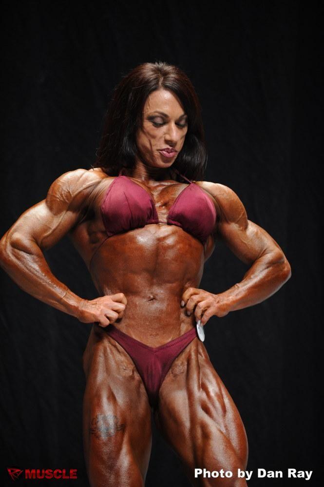 Carla Rossi posing