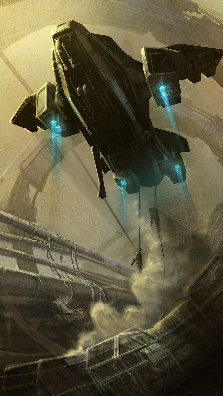 Artwork liftoff space elevator pelican sandstorms unsc (1080x1920, space, pelican, unsc)  via www.allwallpaper.in