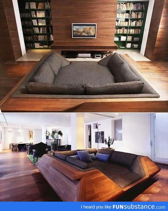 I would crawl in and never come out. Yup