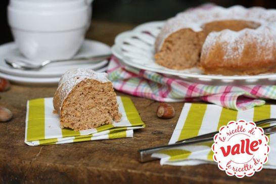 Ciambella con farina di #castagne e nocciole #autunno