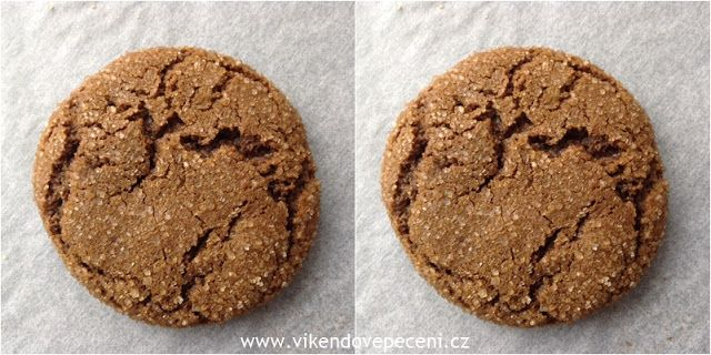 VÍKENDOVÉ PEČENÍ: Melasové cookies