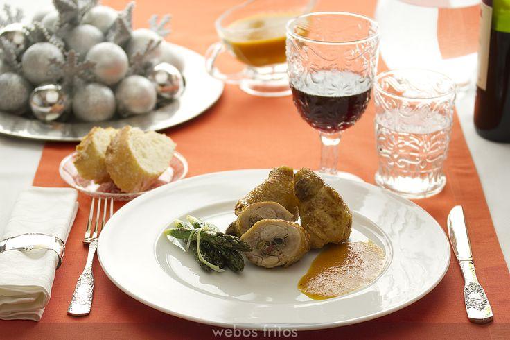 Muslos de pollo rellenos: Bird, Recipe, Pollo Rellenos, Chicken, Meat, Recipes, Ideas Para, 001 Cocina