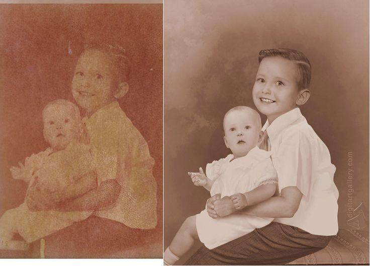 Photo Restoration Fix Faded Photo