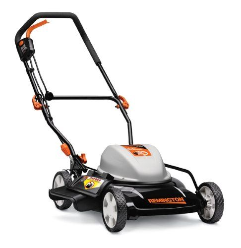 Remington RM202A 19-Inch 12 Amp Corded Electric Side Discharge/Mulching Lawn Mower With Single Level Height Adjust - http://bestlawnmower.bgmao.com/remington-rm202a-19-inch-12-amp-corded-electric-side-dischargemulching-lawn-mower-with-single-level-height-adjust-2