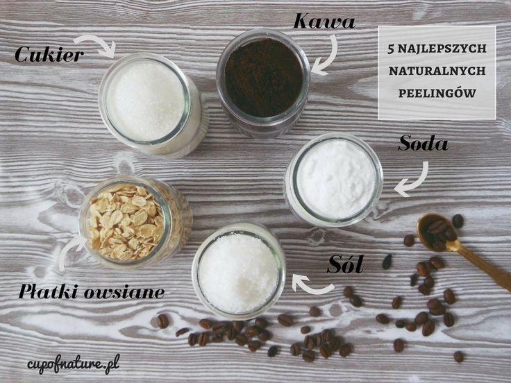 Peeling mechaniczny z łatwością można wykonać samodzielnie w domu i nie potrzeba kupować drogich kosmetyków.  Wszystkie potrzebne składniki znajdziemy w kuchni! Na blogu czeka na Was lista 5 najlepszych, naturalnych produktów do peelingu wraz z przepisami! #naturalnekosmetyki #kosmetyki #domowekosmetyki #uroda #pielęgnacja #twarz #cera #kosmetykidiy #naturalnie #bezchemii #eko #zdrowo #peeling #zdrowaskora #healthy #naturalcosmetics #homemade #clean #skincare #healthyskin