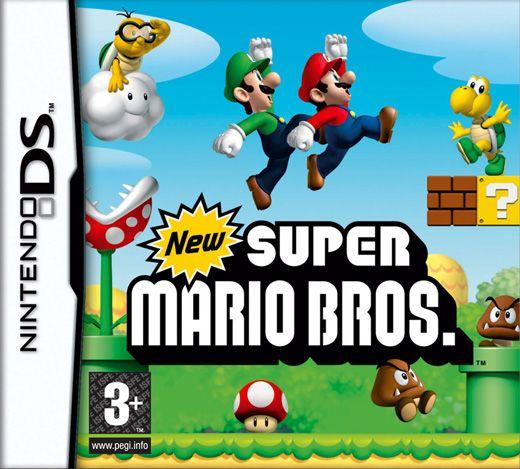 Silke og xander: NEW Super Mario Bros. (EU) /NDS cover - De lånte Casper Emils da vi har på camping og hold da op hvor brugte de mange timer på det spil og spørger stadig efter det.