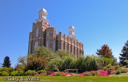 Logan Temple  by Gary B. WellsLogan Temples, Lds Temples, Temples Wall, Temples Visit, Temples Photos