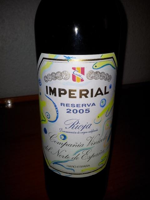 Imperial Rserva 2005 (Botella decorada por Guio)
