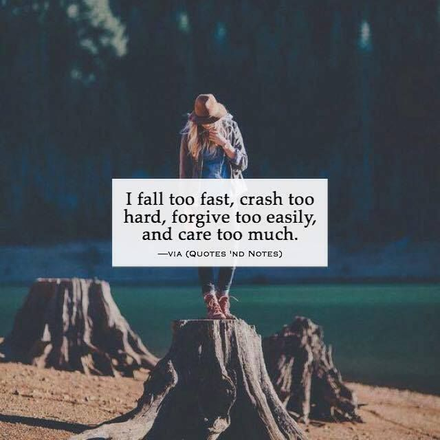 Falling In Love Too Quickly Quotes: 1000+ Ideas About Caring Too Much On Pinterest