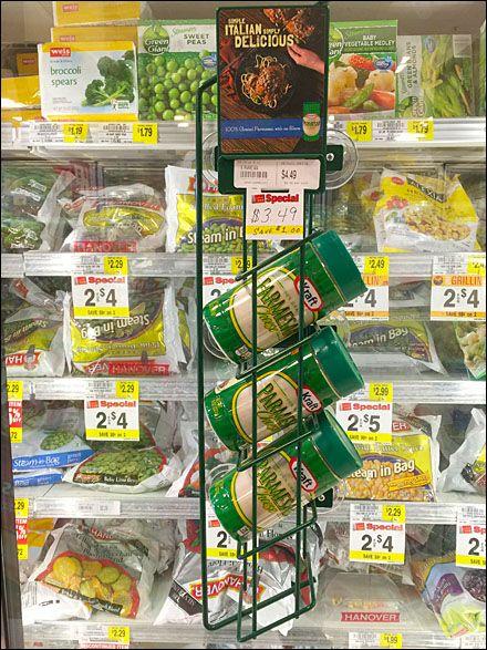 Kraft Parmesan Cheese Cooler Door Rack main & 44 best Cooler Door and Related Cross Sells in Retail images on ...