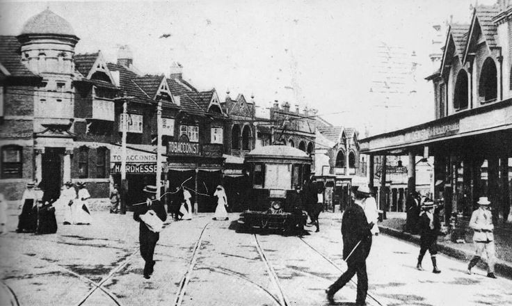 Spit Junction at Mosman,in northern Sydney in 1914.