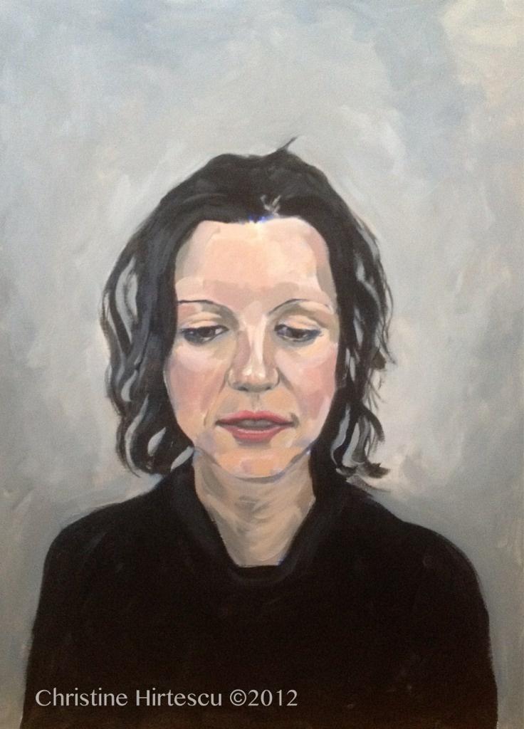 """Christine Hirtescu: Anastasia (2012). Acrylic on Canvas.  18x24"""""""