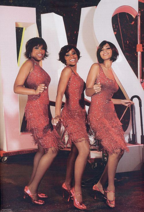 Move, move, move right outta my life! Jennifer Hudson, Anika Noni Rose, Beyonce in Dreamgirls