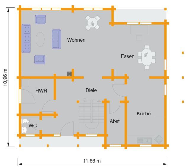 Blockhaus Lewandowsky   Nordic-Haus