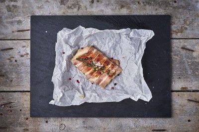 Szaftos csirkemell baconben (kg) Rendelés: http://gourmetbox.hu/shop/sous-vide-husok/szaftos-csirkemell-baconben/