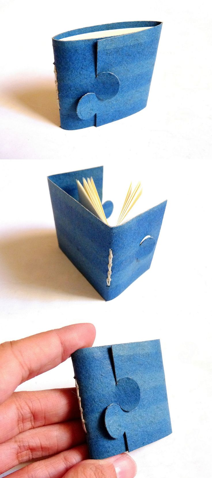 Small Book with Round Closure