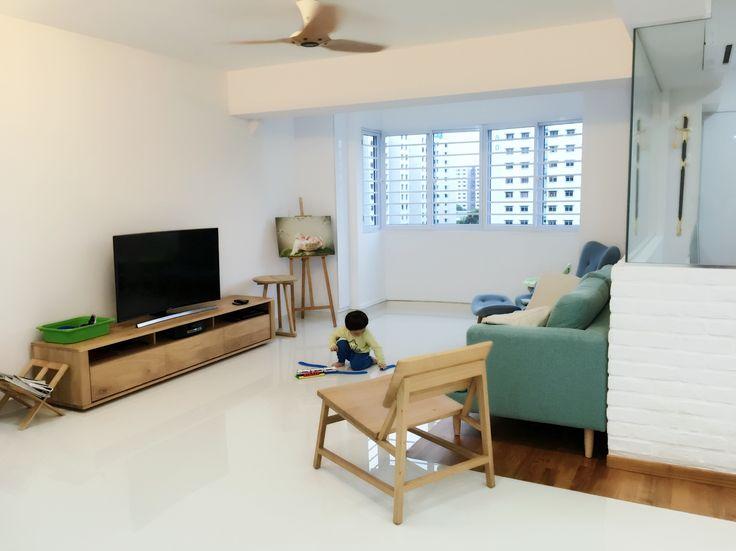 Living room, ethnicraft, minimalist, wooden, castlery
