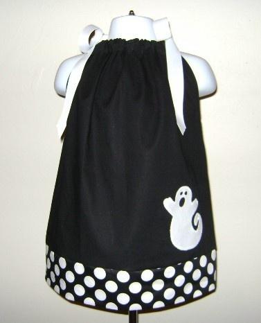 Ghost Halloween Pillowcase Dress 3 6 9 12 18 month 2T 3T 4T 5yr 6yr & Best 25+ Halloween pillowcase dress ideas on Pinterest ... pillowsntoast.com