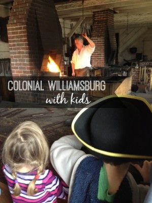 Colonial Williamsburg with Kids - Fun Finds For Families #familytravel #roadtrip #ColonialWilliamsburg