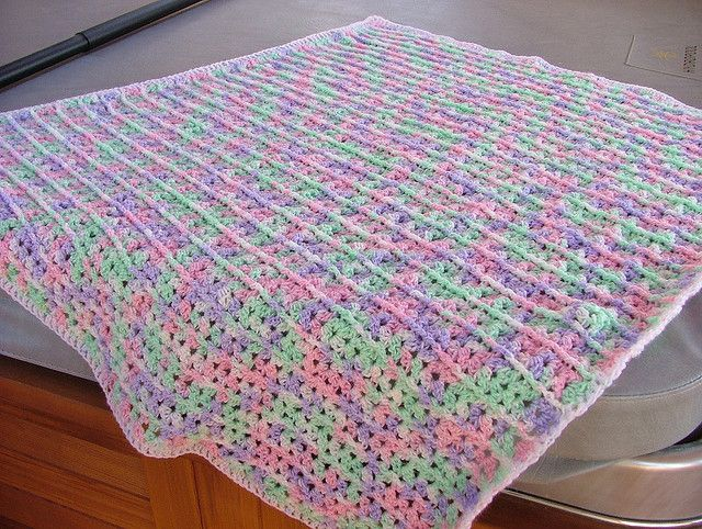 One Skein Lap Throw, free pattern (no. LW1625) from Red ...