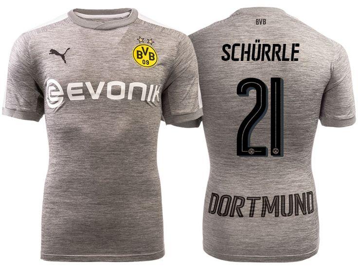 Borussia Dortmund 2017-18 Third Shirt andre schurrle