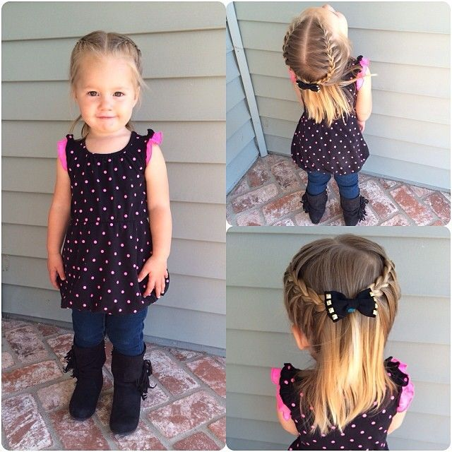 Brilliant 1000 Ideas About Toddler Braids On Pinterest Toddler Hairstyles Hairstyles For Men Maxibearus