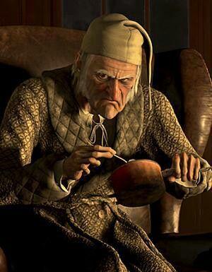 A Christmas Carol. Ebenezer Scrooge