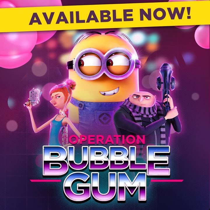 Bubble Gum has taken over the Lab and Downtown so Gru and Lucy are helping investigate!  Join them in the new Special Mission, Operation Bubble Gum: http://gmlft.co/PlayDM_FB #minions  #minionsworld #banana #minionslove  #minionsmovie #minionsrule #minionscake #minionsstyle  #minionsparty  #minionmovie #minionmoments