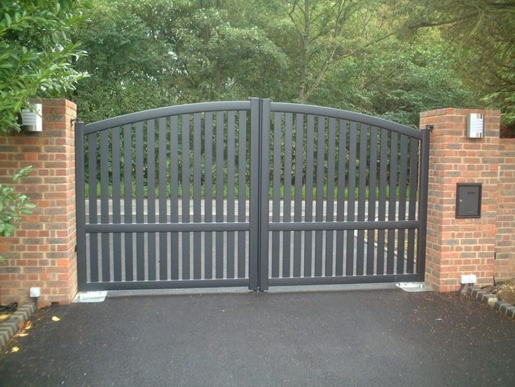 Gate and Fence:Fence Gate Cast Iron Gates Entrance Gate Metal Gate Posts Driveway Security Gates gates for your driveway