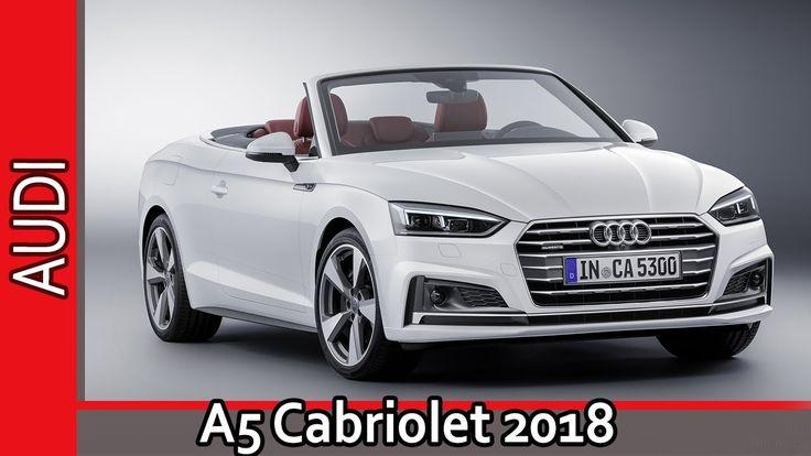 Audi A5 Cabriolet 2018 / Ауди А5 Кабриолет 2018 - Обзор от AUTO WORLD. RU