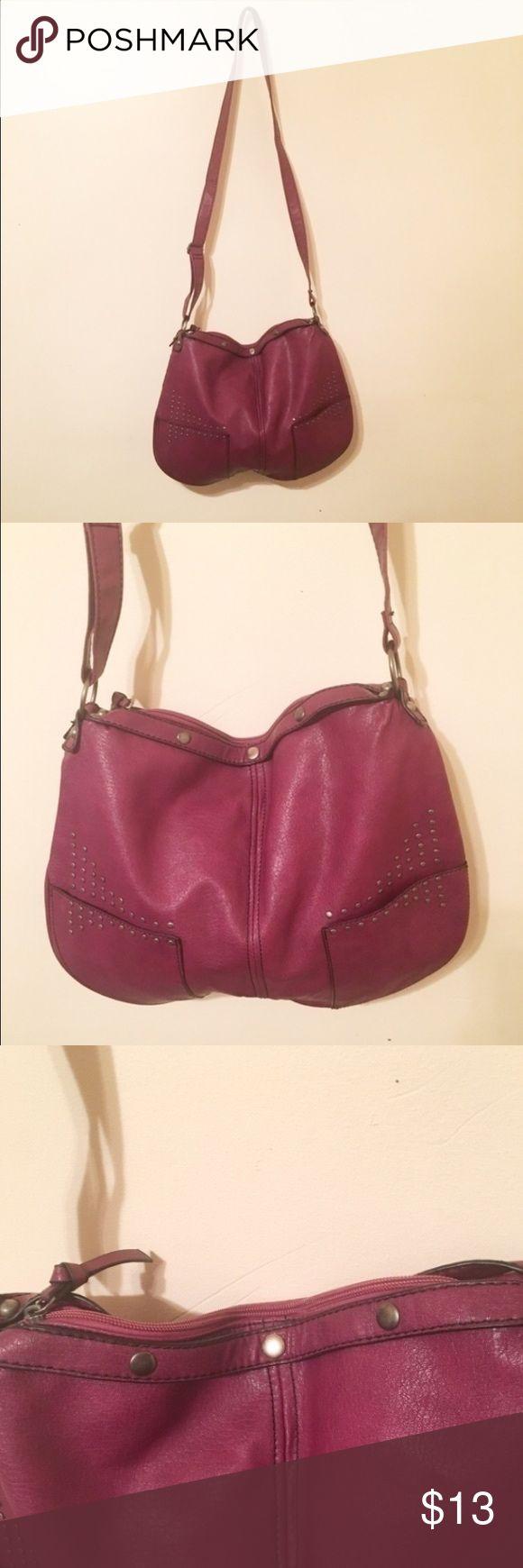 🌎Large plum purse Good conditions large purse Bags Shoulder Bags