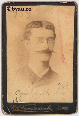 """Miron Costin : Căpitan, Sofia, [1898]. Imagine din colecțiile Bibliotecii """"V.A. Urechia"""" Galați."""