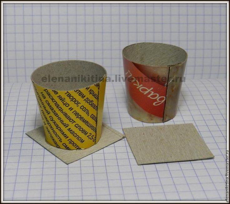 Мастер-класс: эмалированное ведро в миниатюре - Ярмарка Мастеров - ручная…